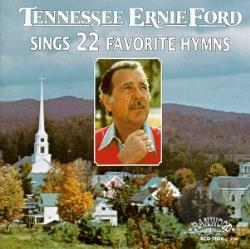 Ford, Tennessee Ernie - Sings 22 Favorite Hymns CD Cover Art
