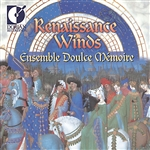 Ensemble Doulce Memoire - Renaissance Winds CD Cover Art