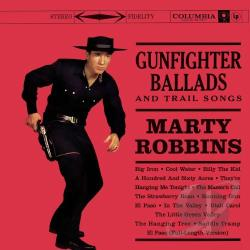 Robbins, Marty - Gunfighter Ballads and Trail Songs CD Cover Art