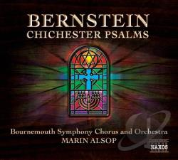 Alsop / Bernstein / Kelly / Nayler - Bernstein: Chichester Psalms CD Cover Art