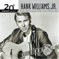 Williams, Hank, Jr. - 20th Century Masters - The Millennium Collection: The Best of Hank Williams, Jr. CD Cover Art