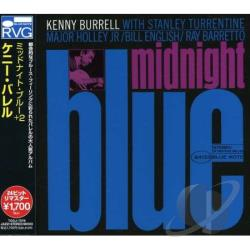 Burrell, Kenny - Midnight Blue CD Cover Art