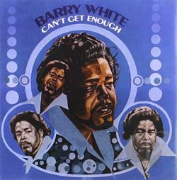 White, Barry - Can't Get Enough CD Cover Art