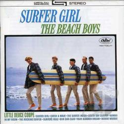 Beach Boys - Surfer Girl/Shut Down, Vol. 2 CD Cover Art