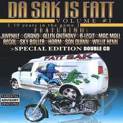 Da Sak Is Fatt, Vol. 1 CD Cover Art