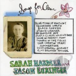 Harmer, Sarah - Songs for Clem CD Cover Art