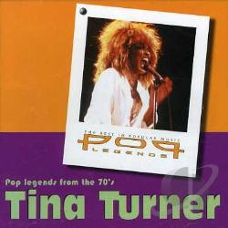 Turner, Tina - Pop Legends CD Cover Art