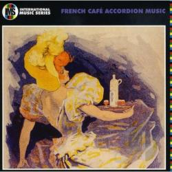 French Cafe Accordion Music CD Cover Art