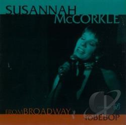 Mccorkle, Susannah - From Broadway to Bebop CD Cover Art
