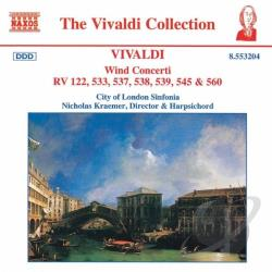City Of London Sinfonia / Kraemer / Vivaldi - Vivaldio: Wind Concerti CD Cover Art