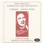 Always... Patsy Cline CD Cover Art