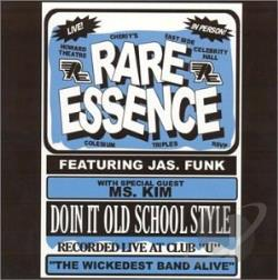 Rare Essence - Doin' It Old School Style CD Cover Art