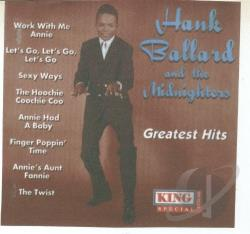 Ballard, Hank - Midnighters/Greatest Hits CD Cover Art