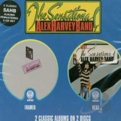 Sensational Alex Harvey Band - Framed/Next CD Cover Art