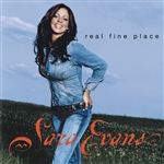 Evans, Sara - Real Fine Place CD Cover Art