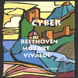 Cyberchambermusic - Cyber Beethoven Mozart and Vivaldi CD Cover Art
