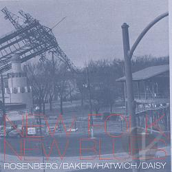 Rosenberg, Scott - New Folk, New Blues CD Cover Art