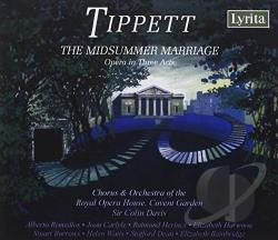 Carlyle / Davis / Harwood / Watts - Tippett: The Midsummer Marriage CD Cover Art