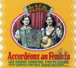 Accordeons au Feminin CD Cover Art