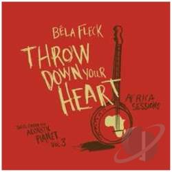 Fleck, Bela - Throw Down Your Heart, Tales from the Acoustic Planet, Vol. 3: Africa Sessions CD Cover Art