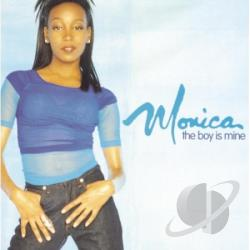 Monica - Boy Is Mine CD Cover Art