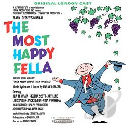Original London Cast - Most Happy Fella CD Cover Art