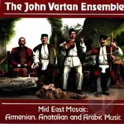 Vartan, John - Mid East Mosaic CD Cover Art