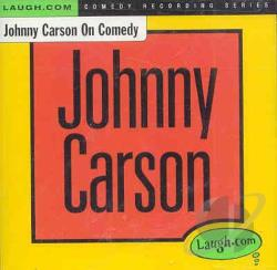 Carson, Johnny - Johnny Carson on Comedy CD Cover Art