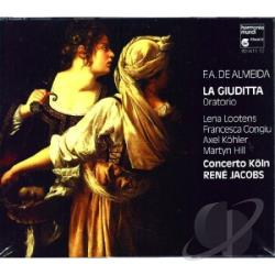 De Almeida, F.A. La Giuditta CD Cover Art