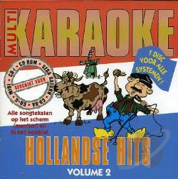 Multi Karaoke - Vol. 2 - Hollandse Hits CD Cover Art