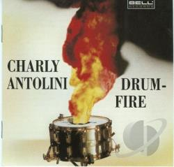 Antolini, Charly - Drumfire CD Cover Art