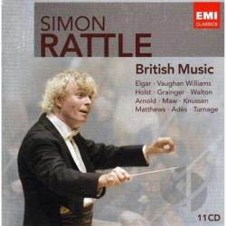 Rattle, Simon - Simon Rattle: British Music CD Cover Art