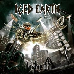 Iced Earth - Dystopia CD Cover Art