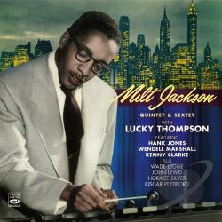 Jackson, Milt - Quintet & Sextet with Lucky Thompson CD Cover Art
