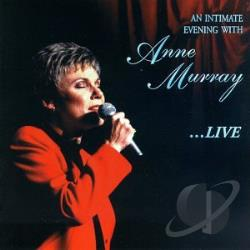Murray, Anne - An Intimate Evening With Anne Murray...Live CD Cover Art