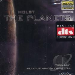 Holst, G. - Holst: The Planets / Yoel Levi, Atlanta Symphony Orchestra CD Cover Art