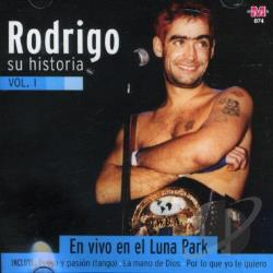 Rodrigo - Historia 1 - En Vivo En El Lun CD Cover Art