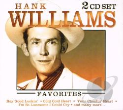 Williams, Hank - Hank Williams CD Cover Art