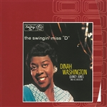 Washington, Dinah - Swingin' Miss 'D' CD Cover Art