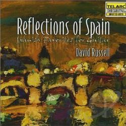 Russell, David - Reflections of Spain: Spanish Favorites for Guitar CD Cover Art