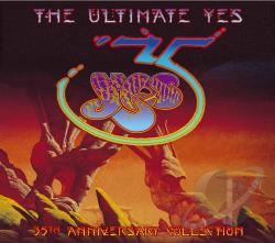 Yes - Ultimate Yes CD Cover Art