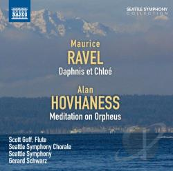 Goff / Ravel / Schwarz / Seattle Sym & Chorale - Ravel: Daphnis et Chloe CD Cover Art