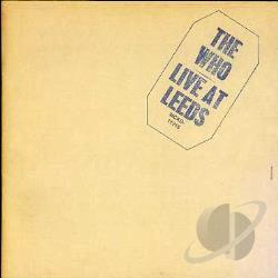 Who - Live at Leeds CD Cover Art