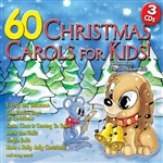 Countdown Kids - 60 Christmas Carols For Kids CD Cover Art