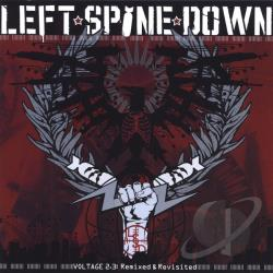 Left Spine Down - Voltage 2.3: Remixed & Revisited CD Cover Art