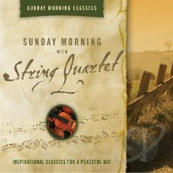Sunday Morning with String Quartet CD Cover Art