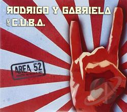 Cuba / Rodrigo Y Gabriela - Area 52 CD Cover Art