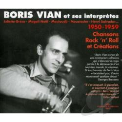 Vian, Boris Et Ses Interpretes - Boris Vian Juliette Greco Magali CD Cover Art