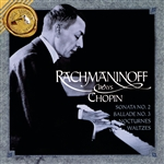 Rachmaninoff - Rachmaninoff Plays Chopin CD Cover Art