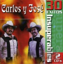 Carlos Y Jose - 30 Exitos Insuperables CD Cover Art